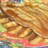 Crêpe aux pommes crème caramel au beurre salé