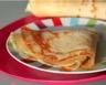 Crêpes à la farine d'amarante et au lait d'amande sans gluten