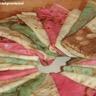 Crêpes en bouquet multicolore