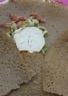 Crêpes salées fondue de poireaux lardons et chèvre