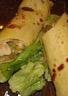 Crêpes soja au poulet céleri et macédoine