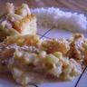 Crevettes sautées à la vanille et au chou chinois
