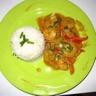 Crevettes sautées soja et coco