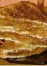 Croque aux pommes caramélisées crème de spéculoos et noisettes