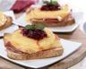Croque-monsieur au jambon fromage et ananas