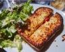 Croque monsieur au jambon fromage et moutarde