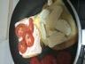 Croque-monsieur jambon de pays tomate fromage