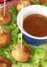 Croquettes de dinde aux épices et sauce aux prunes