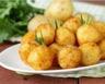 Croquettes de pommes de terre aux carottes et lardons