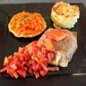 Croustillant de magret de canard farci au foie gras et sa sauce Gariguette