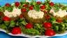 Croustillants de pommes de terre à l'oseille et crevettes