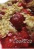 Crumble aux fruits rouges (fraises framboises cerises)