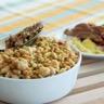Crumble d'agneau au curry légumes façon tajine