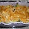 Crumble de poulet et de légumes au gorgonzola