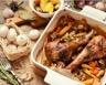 Cuisse de dinde champignons et pommes de terre maison