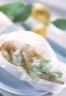 Cuisses de lapin en papillote et sa crème citronnée aux herbes