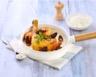 Cuisses de poulet au vin jaune et aux morilles