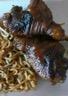 Cuisses de poulet confites au coca cola aux nouilles ramen