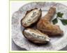 Cuisses de poulet panées et pommes de terre au four