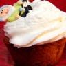 Cupcake à la pomme et chantilly de cidre