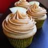 Cupcakes à la pomme-vanille et caramel au beurre salé