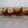 Cupcakes au chorizo et chantilly au roquefort : Un mariage réussi