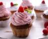 Cupcakes aux framboises