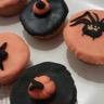 Cupcakes d'Halloween au beurre de cacahuètes