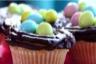 Cupcakes de Pâques nid d'oiseaux