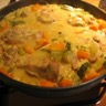 Curry de dinde aux courgettes et carottes