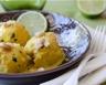 Curry de lotte au lait de coco citron vert et noix de cajou