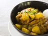 Curry de porc aux pommes de terre