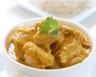 Curry de poulet au lait de coco non sucré