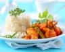 Curry de poulet et légumes
