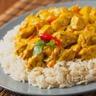 Curry facile de poulet à l'indienne