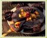Délice aux noix poires caramélisées et chocolat