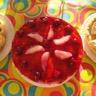 Délice framboises et fruits exotiques
