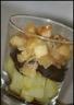 Délices de boudin noir aux deux pommes