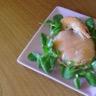 Dome de mousse d'asperges au saumon fumé