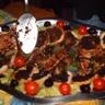 Duo de filets de rougets grillés à la tapenade