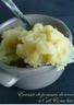 Ecrasée de pommes de terre à l'ail & au lait