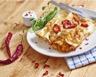 Enchiladas de crêpes au poulet et poivrons