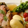 Epaule d'agneau en croûte d'herbes aux légumes bretons