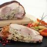 Epaule de porcelet farcie aux cèpes et son jus méli-mélo de légumes d'Antan