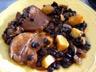 Epaule de veau aux haricots noirs