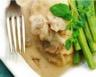 Escalope de dinde aux champignons