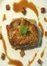 Escalope de foie gras sautée aux mangues et sauce pain d'épices