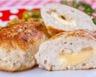 Escalope de poulet panée au fromage
