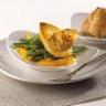 Escalopes de foie gras de canard des landes lafitte et mangues à la plancha