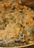 Escalopes de poulet à la crème aux champignons et aux amandes